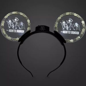 Haunted Mansion 50 Years Light Up Ears